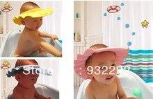 Регулируемая шапочка для душа защитить шампунь для детского здоровья купание детей малыша мыть волосы щит шляпа бесплатная прямая поставка