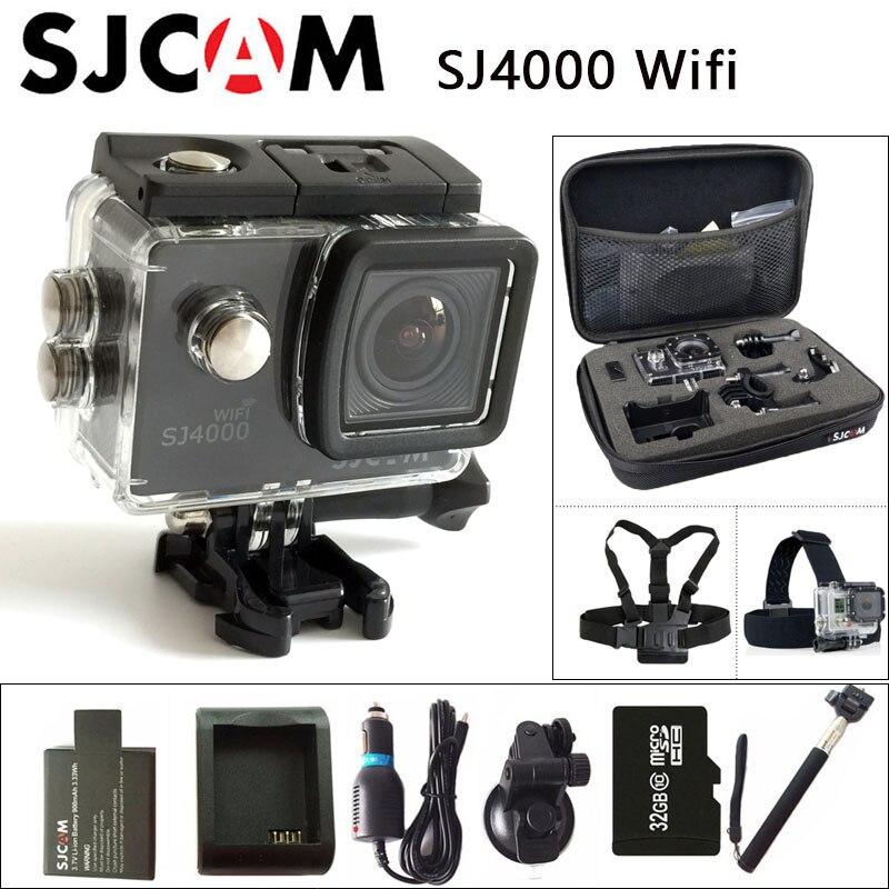 Original sjcam sj4000 wifi dv deportes acción cámara 2.0 pulgadas lcd pantalla 1