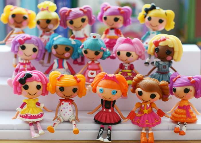 free shipping multi style Original 7cm MGA Lalaloopsy Dolls Mini  lovely Dolls  happy angle For Girl's Toy куклы и одежда для кукол lalaloopsy mini игровой набор style n swap princesse