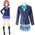 LoveLive! Nishikino Maki/Hoshizora Rin/Koizumi Hanayo cosplay clothing Full set of uniform