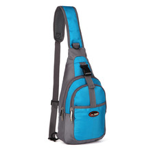 The New Men's and Women's Outdoor Sports Chest Package Popular Leisure Single Shoulder Bag