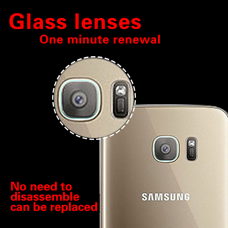 Rear Camera Lens Anti-Scratch Guard Tempered Glass Film For Samsung S7 EDGE 5.5 Back Camera Lens Toughened Protective HD Films