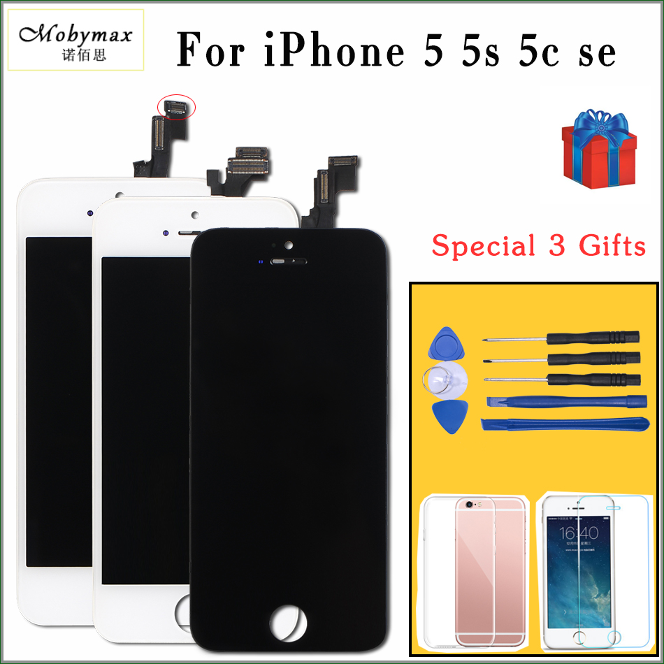 Mobymax  All Test Work LCD For iPhone 5S mould LCD Display Touch Screen Digitizer Assembly Replacement for iphone 5 display Mobymax  All Test Work LCD For iPhone 5S mould LCD Display Touch Screen Digitizer Assembly Replacement for iphone 5 display