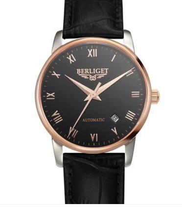 Permalink to Automatic mechanical watch 50M water  BERLIGET wristwatches mens Automatic mechanical watch