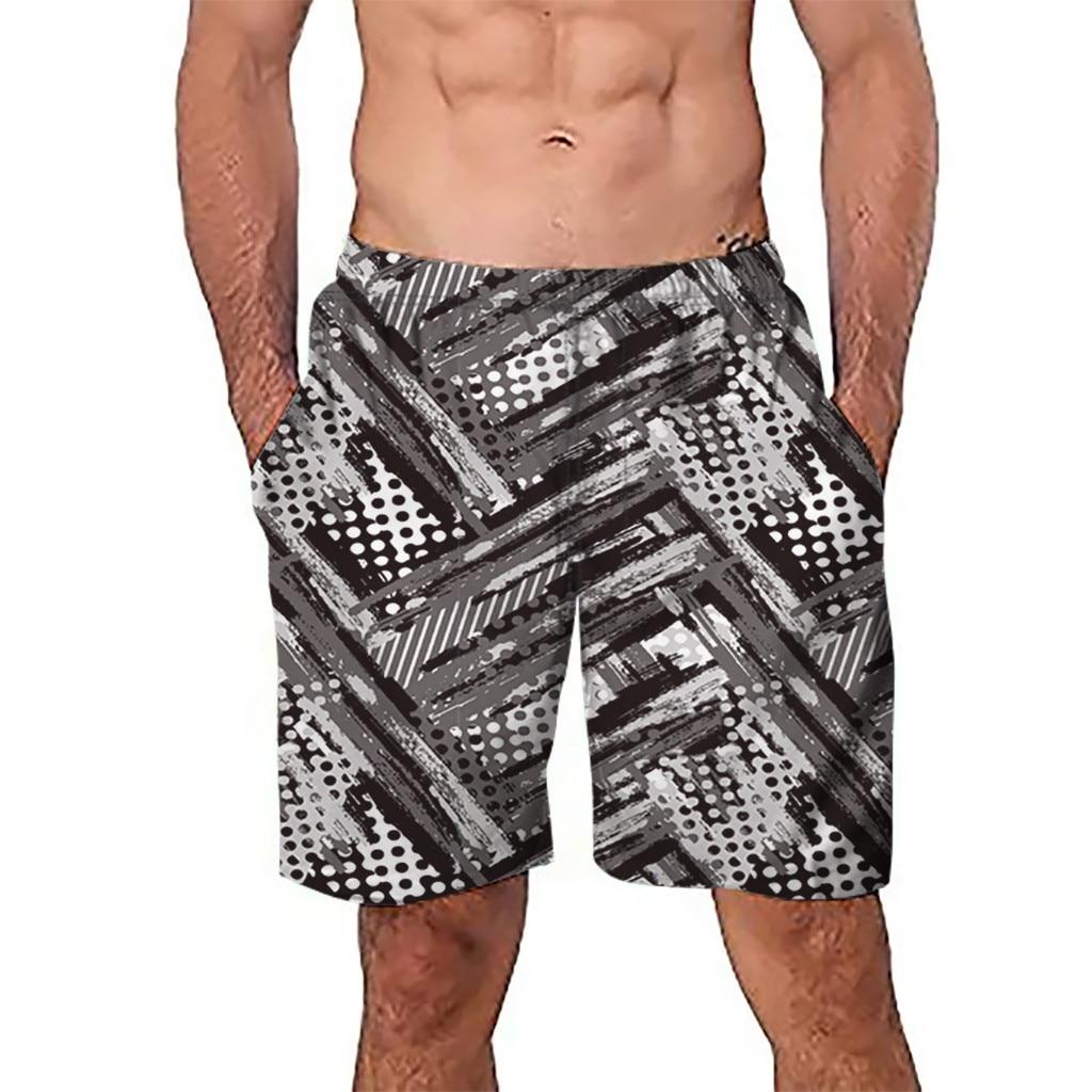 100% QualitäT Chamsgend Shorts Männer Kurze Badehose Quick Dry Geometrische Drucken Strand Surfen Schwimmen Watershort Maillot De Bain Homme 48feb23