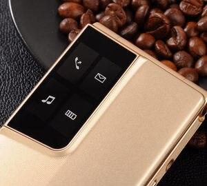 """Image 5 - الوجه 2.8 """"شاشة الأصلي الوجه لوحة المفاتيح الكبيرة رخيصة كبار اللمس الهاتف المحمول الهاتف الأكبر صدفي هواتف محمولة الروسية H موبايل"""