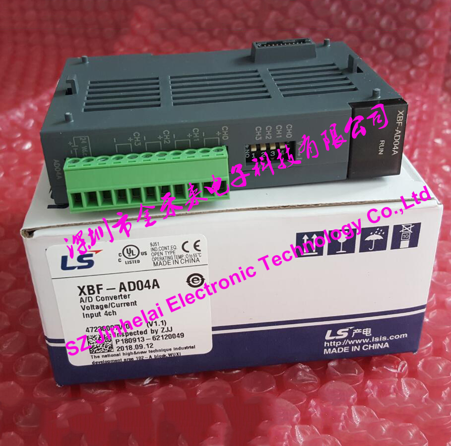 100% New and original XBF-AD04A LS(LG) PLC 4 channel analog input (voltage/current) 100% new and original xgp ac23 ls lg plc voltage module 220v input is dedicated dc5v 8 5a