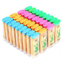 XMT-HOME Decorative toothpicks cigarette lighter shape bamboo tooth picks 24 packs 80pcs/pack(China)
