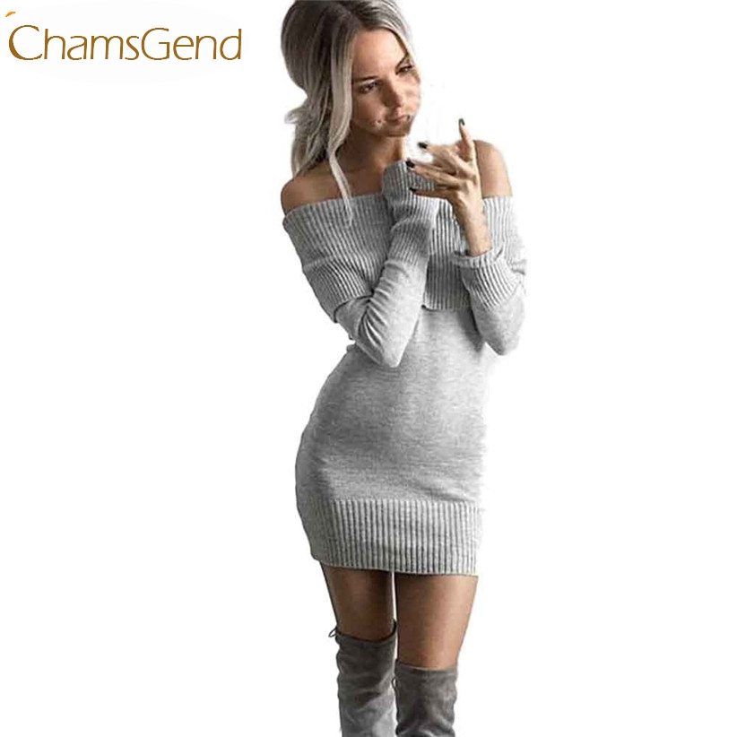 Newly Design Fashion Winter Knitted Bodycon Off Shoulder Sweater Dress For Women 160926 Drop Shipping economic newly design 2 4mx1 2mx3cm cheap gymnastic mats