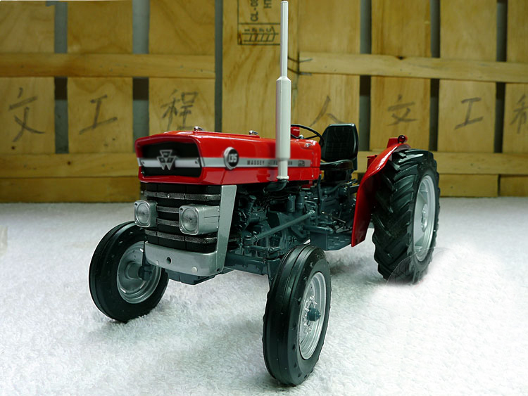 1:16 2698 Massey 135 without Cabin tractor farm vehicle model Alloy collection model 1 24 simso gs 75 retro alloy motorcycle model collection model
