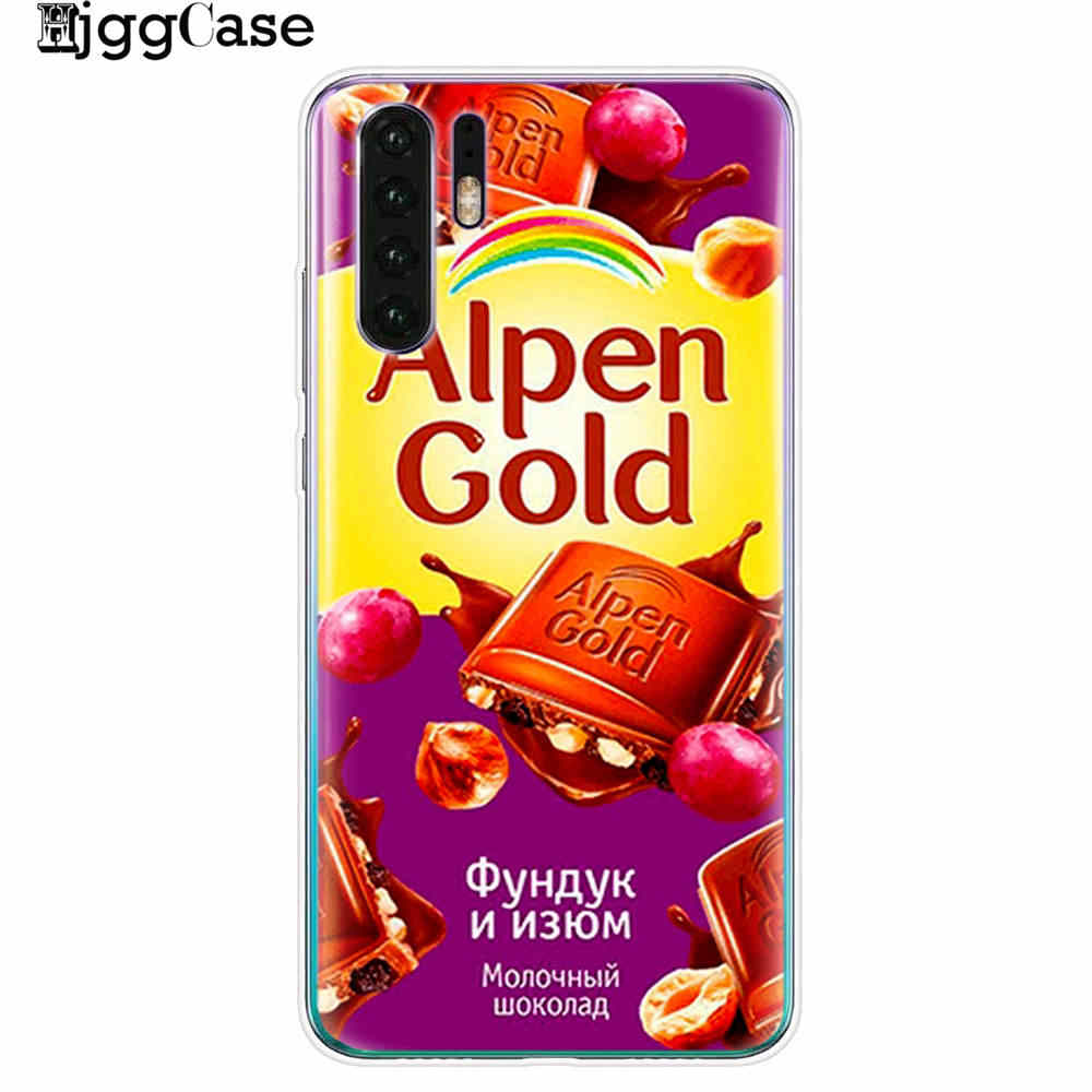 Para Huawei Honor 10 9 20 Lite funda silicona divertida Chocolate ruso suave para Huawei Honor 8X 8C Y9 funda de teléfono suave 2019