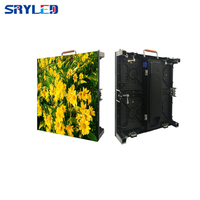 Light Weight full color HD LED video display screen p4.81 indoor rental led video curtain for stage
