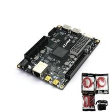 AX7035 XILINX FPGA פיתוח לוח תעשייתי Artix 7 Artix7 XC7A35 2FGG484 עם 256 mb DDR3 Gigabit Ethernet