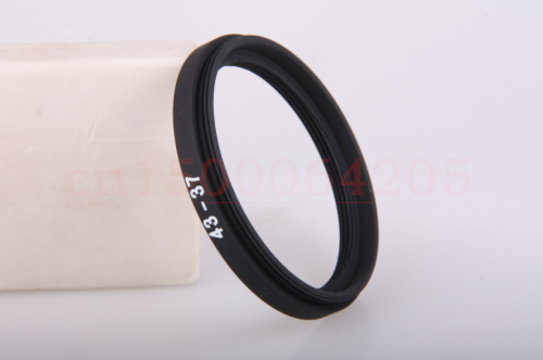 Wholesale 10pcs 43mm to 37mm 43mm-37mm 43-37mm Lens Stepping Step Up Filter Ring Adapter
