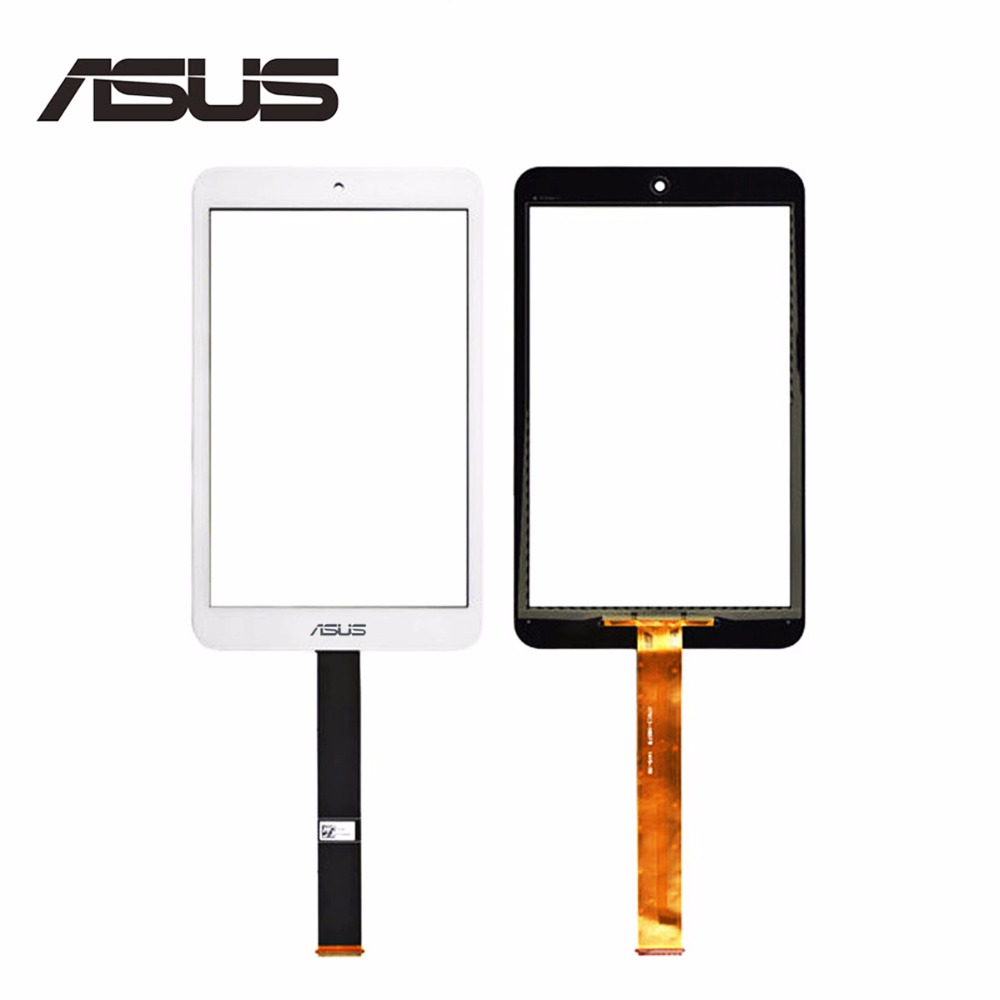 Original 7 For Asus Memo Pad 8 ME181 ME181C K011 Touch Screen Digitizer Sensor Glass Panel Tablet PC Replacement Parts ME181 black touchscreen panel glass digitizer lens sensor replacement parts for asus memo pad 10 me103k 10 1 tablet