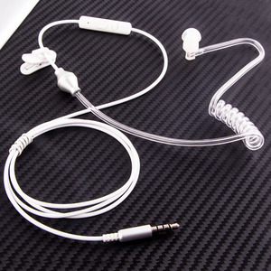 Image 5 - RUKZ T5 Anti radiation Earpiece Radiation Protection Earphones with Microphone for Mobile Phone Stereo Bass In Ear Earbuds