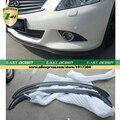Venda quente 2009-2013 G35 G37 Fibra De Carbono Frente Auto Car Bumper Lip Spoiler Para Infiniti (apto Para Infiniti G35 G37 09-13)