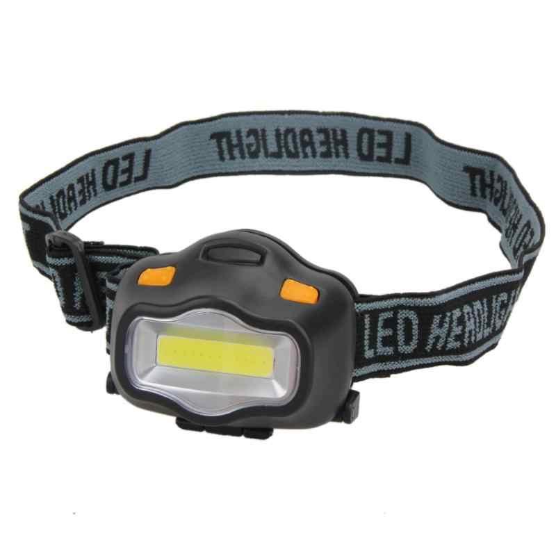 12 ミニ COB Led ヘッドライト屋外照明ヘッドランプキャンプハイキング釣り読書活動白色光フラッシュヘッドランプ