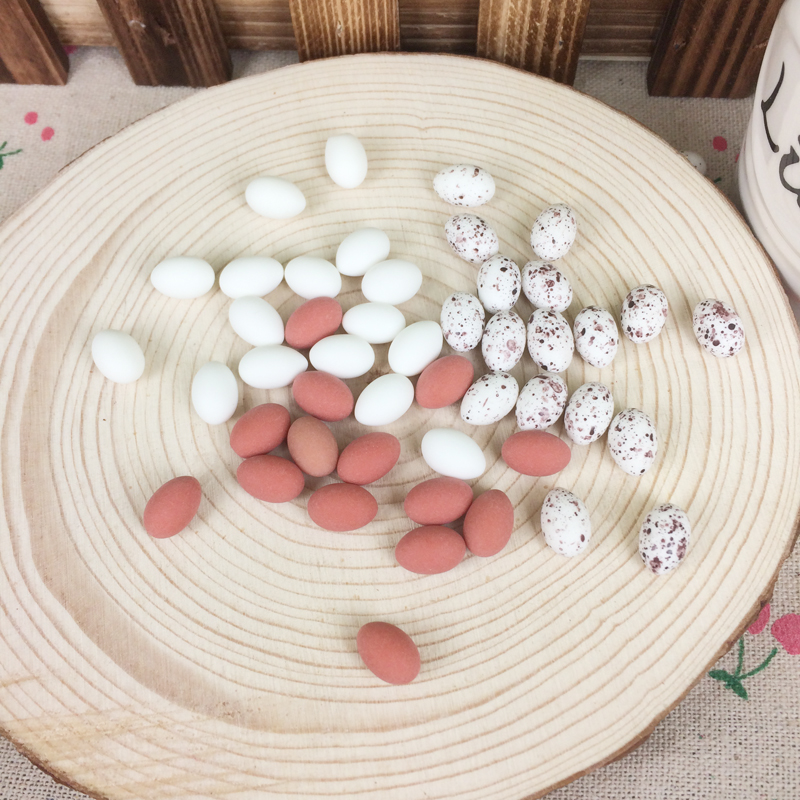Mixed 3 styles kawaii diy miniature eggs resin for Accessoires decoration