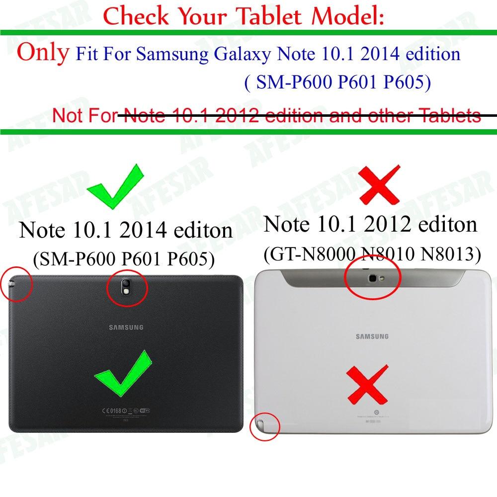 Para Samsung Galaxy Note 10.1 edición 2014 p600 p605 p601 Funda - Accesorios para tablets - foto 3