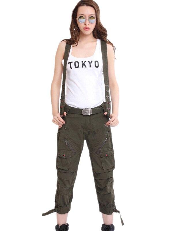 Летние съемные ремни для женщин камуфляжные штаны комбинезоны колготки брюки военные фанаты размер 27 – 31