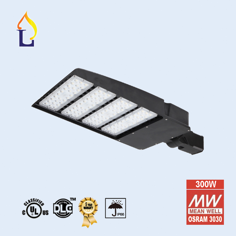 5 Pack led shoebox light 5 years warranty Garden Lamp Ip66 led Outdoor Street Light 100W-300W Area light with photocell sensor полуботинки betsy ботинки на каблуке