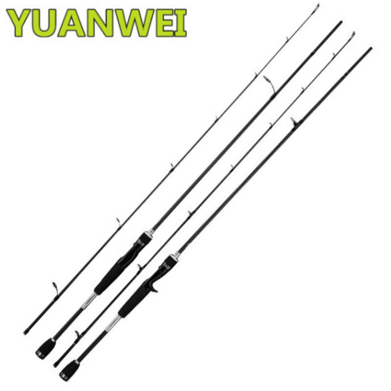 YUANWEI 2.4m M Power Spinning/Casting Fishing Rod IM8 99% Carbon FUJI Guide Ring and Reel Seat Rod Fishing Rod Peche En Mer 30t 36t im8 carbon megafight casting rod american tackle micro wave duralite ring casting fishing rod