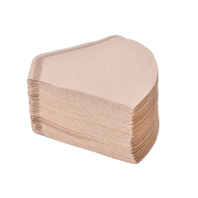 100 шт./пакет деревянный оригинальная ручная капельного бумажный фильтр для кофе эспрессо Кофе фильтры