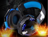 2016 Best PC Gamer Casque EACH G2000 Stereo With Mic Microphone LED Light Hifi Gaming Head
