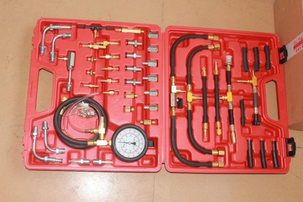 Fuel <font><b>Pressure</b></font> Tester Kit Master Fuel Injection <font><b>Pressure</b></font> <font><b>Test</b></font> Tool TU-443 TU443 fuel manometer vehicle fuel <font><b>pressure</b></font> gauge