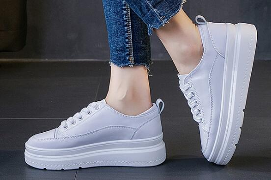Hot sale YIFU  Increase the white shoes in the thick bottom A999(1)-A999(2)Hot sale YIFU  Increase the white shoes in the thick bottom A999(1)-A999(2)