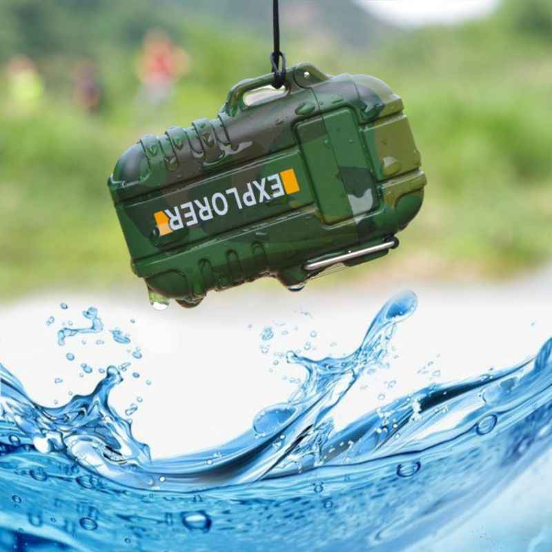 עמיד למים כפול Arc USB נטענת טעינה חשמלי מתכת סיגריות פלזמה דופק מצית חיצוני