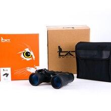 Bosma 12x50 jumelles en alliage daluminium châssis IPX6 étanche Hd grand oculaire longs yeux BAK4 prisme revêtement multicouche