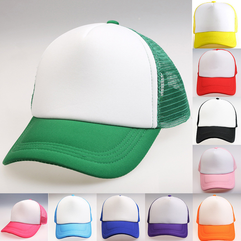 Womail   baseball     cap   new Fashion Unisex Color Block Snapback Hip Hop Flat Hat Adjustable Hat 2019 f21