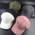 100% хлопок Мужчины Женщины Вскользь вперед россия полосатый кости strapback шапки вельвет белый зеленый розовый шляпа дамы симпатичные бейсболки