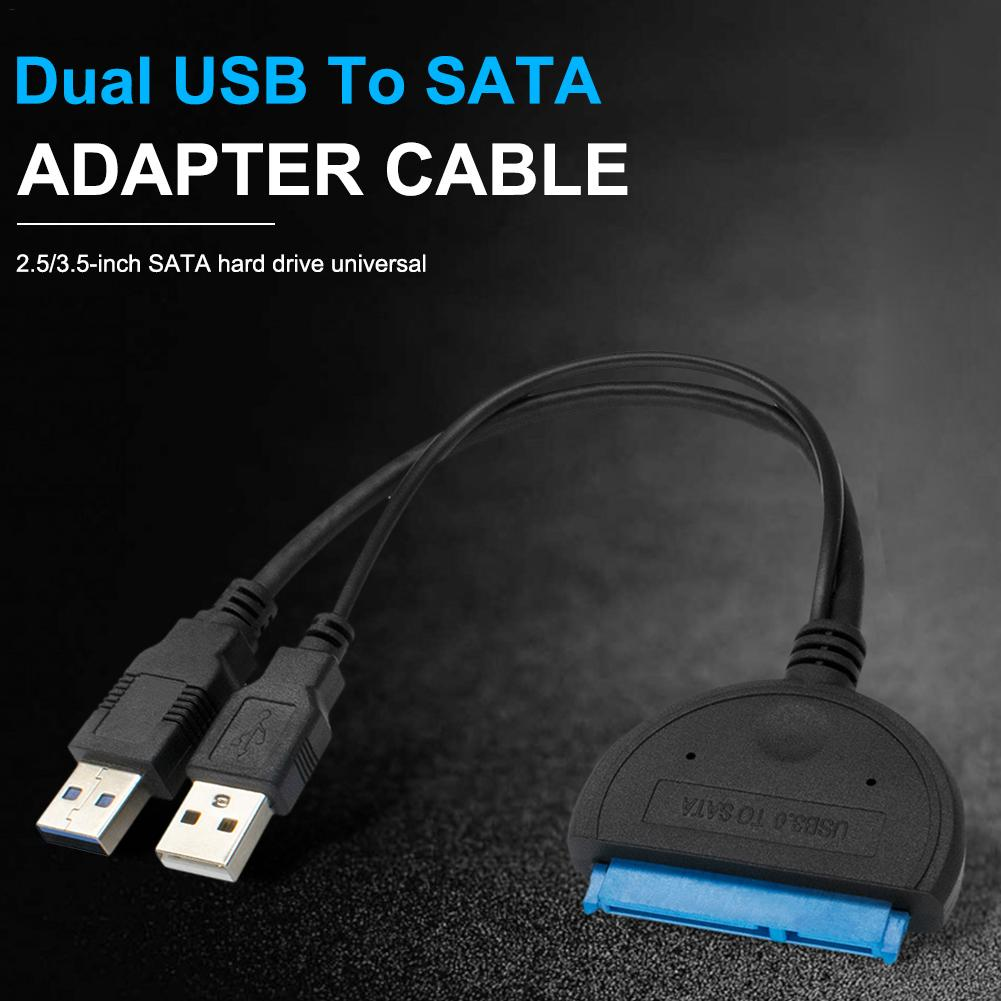 USB 3.0 to SATA External SATA 5Gbps Convertor Adapter for 2.5 3.5inch HDD