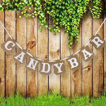 decoración candy bar RETRO VINTAGE