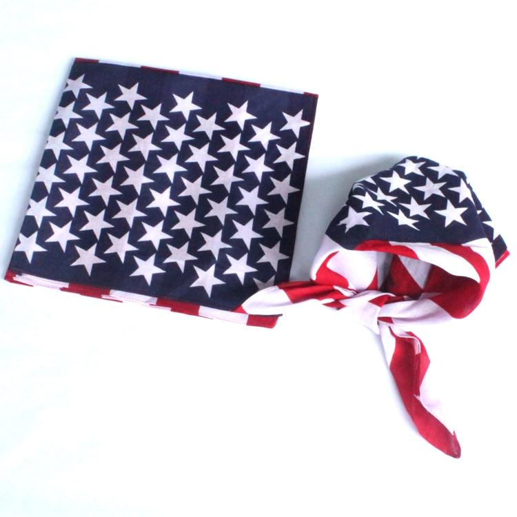 12 Pcs 100% Coton Paisley Bandanas double face head wrap écharpe bracelet  Amérique Jack drapeau bandana Head Wrap Cache-Cou 98f29c111b3