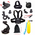 For Gopro hero 5 Sport camera accessories chest strap mount clamp kit for SJCAM go pro accessories xiaomi yi action camera 48