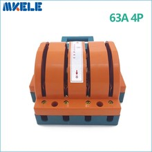 Wholesale  Heavy Duty 63A 4p Double Throw Knife Disconnect Switch Delivered Safety Blade Switches