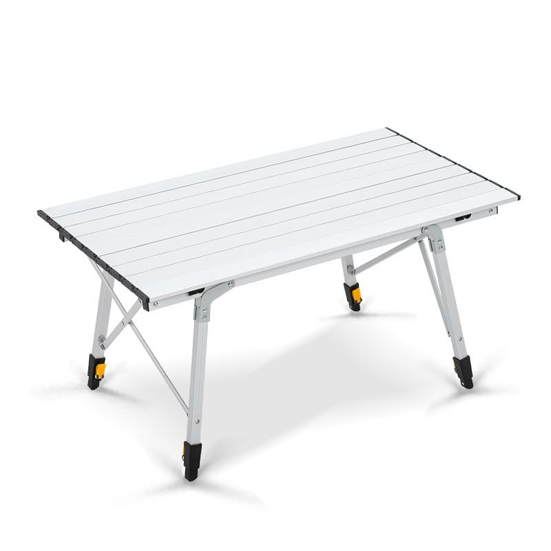 Metalowy kombinezon aluminiowy Przenośny składany stół piknikowy - Meble - Zdjęcie 2