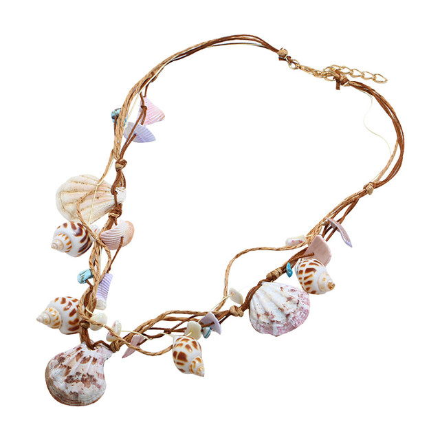 brixini.com - Elegant Beach Shell Bohemian Necklace