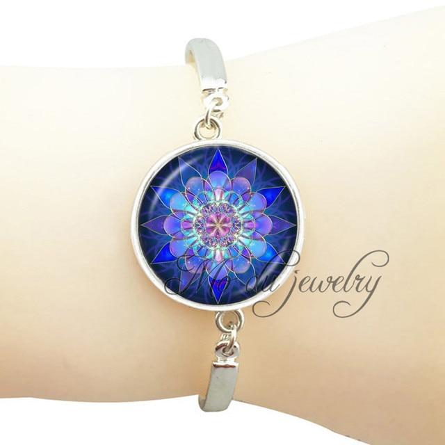 Om Bracelet Om Symbol Jewelry Art Picture Indian Mandala Jewelry