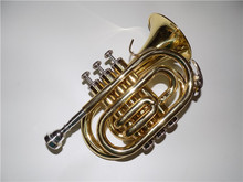 JinBao Bb Pocket trumpet with ABS case Customized your own instrument