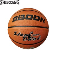 Official Size 7 PU Leather Standard Basketball Indoor Outdoor Training Match Basket Ball Free Net Bag Needle