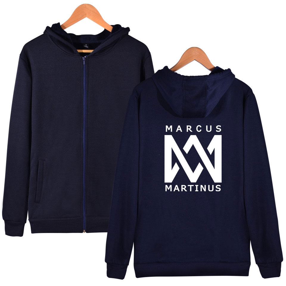 Marcus &martinus Zipper Hoodies Sweatshirt The Hottest Twin Combination New Style Hoodies Ouewear Pullovers Zippers Delicacies Loved By All Hoodies & Sweatshirts