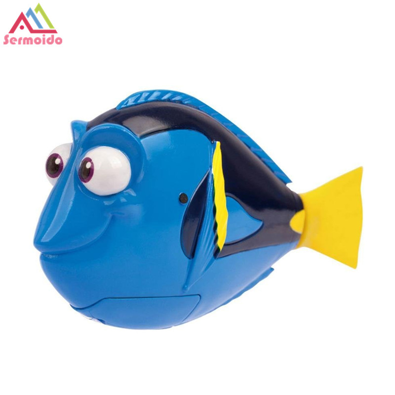 6e918c79a51 sermoido 2PCS LOT Dory Nemo Swimming Robot Fish Activated in Water Magical  Electronic Toy Kids Children Gift DBP238-in Electronic Pets from Toys    Hobbies ...