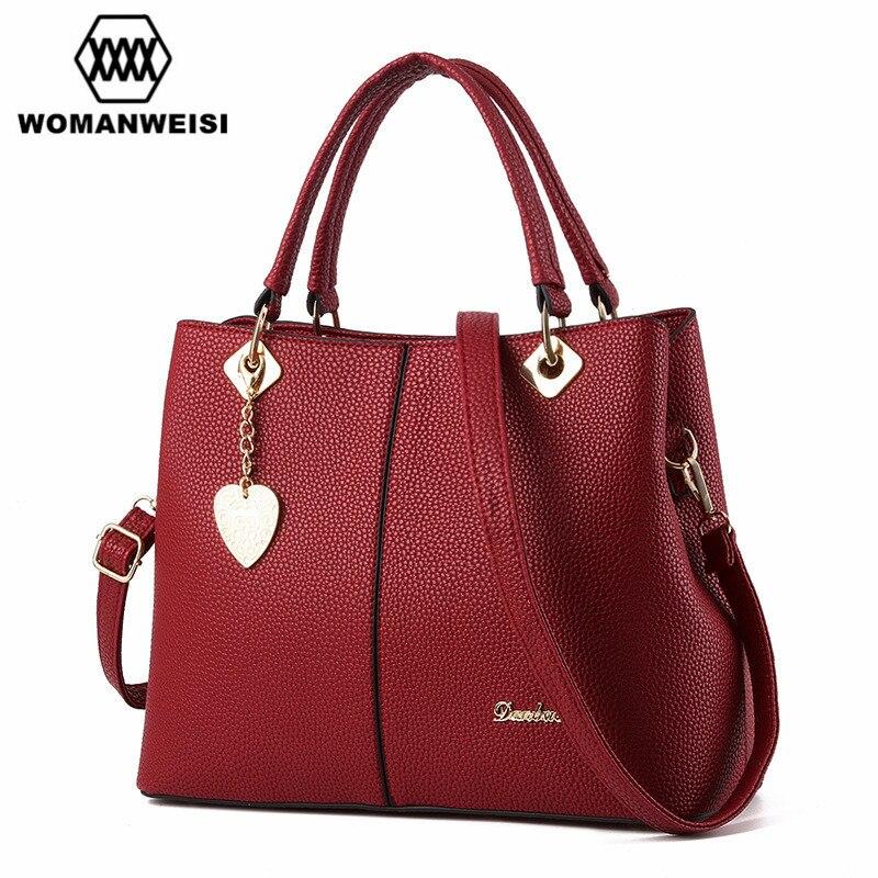 marca sacolas do homensageiro do Color : Black Pink Dark Blue Rose Red Gray Wine Red 6 Colors Can Choose