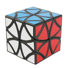 LanLan 57mm Skew Curvy Butterfly Cube Speed Puzzle Game Anti Stress Magic Cubes Educational Toys for