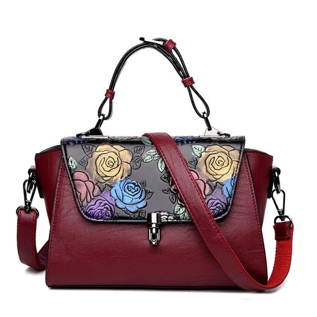 2f17f91171d Fashion Chinese Style Women Floral Handbag Small Trapeze Bag Ladies Bolsos  Mujer Designer Handbags High Quality Crossbody Bags